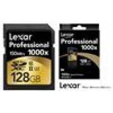 Lexar Professional 1000x 128GB SDHC SDXC UHS-II - Upto 150MB/s