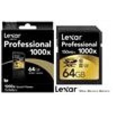 Lexar Professional 1000x 64GB SDHC SDXC UHS-II - Upto 150MB/s