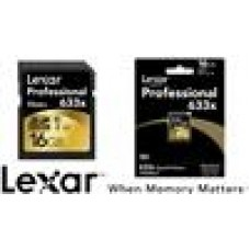 Lexar Professional 633x 16GB SDHC SDXC UHS-I Card - Upto 95MB/s (LS)