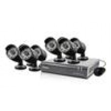 Swan 8 Channel 720p DVR Kit with 8 x Pro-A850 Cameras (LS)