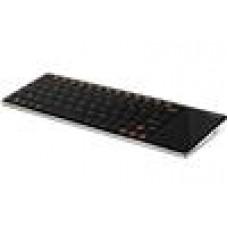 RAPOO E2700 2.4GHz Wireless Keyboard w/TouchPad Black - 2.4GHz RF,UltraThin,NanoReceiver (LS)