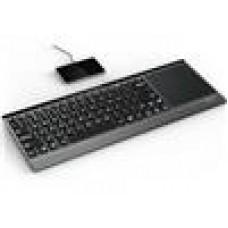 RAPOO E9090P 5GHz Wireless Charging Backlit Illuminated Keyboard w/TouchPad (LS)