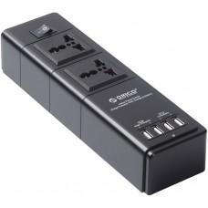 ORICO 2x AC + 4x USB Power Boa 2500W, 2x5V2.4A Ports/Surge Pr