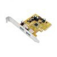 Sunix Dual PCIeUSB 3.1 host card with USB-A
