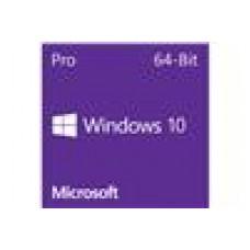 Microsoft Windows 10 Professional OEM 64-bit Eng Intl 1pk DSP OEI DVD