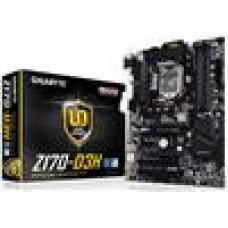 Gigabyte GA-Z170-D3H MB LGA1151 4xDDR4 VGA DVI HDMI Intel GbE LAN PCIEX16 2xCrossFire M.2 3xSATAE 6xSATA3 8xUSB3 USBC ATX