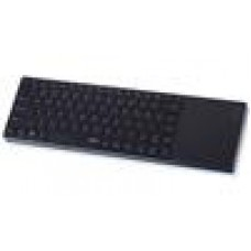 RAPOO E6700 Bluetooth Aluminium Keyboard w/TouchPad Black - Stylish,SmartTouch