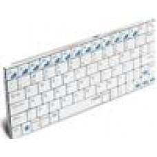 RAPOO E6300 Bluetooth Mini Keyboard - iPad,5.6mmThin,LongBatteryLife (LS)