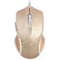 RAPOO V20 RGB Optical Gaming Mouse Lighting Golden - Upto3000dpi,16mColourLight (LS)