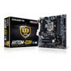 Gigabyte GA-H170M-D3H MB LGA1151 4xDDR4 VGA DVI HDMI Intel GbE LAN PCIEX16 2xCrossFire M.2 2xSATAE 6xSATA3 8xUSB3 mATX