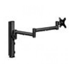 Systema 710mm Mon Arm& 400mm Post Desk Mount with Bolt BLK