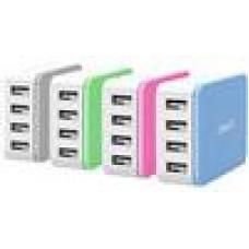 ORICO 4 x USB - Port Desktop Charger - Blue