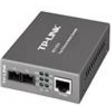 TP-Link MC110CS 10/100Mbps Single-Mode Media Converter  convert 100BASE-FX fiber to 100Base-TX copper media Extends fiber distance up to 20km