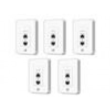Ubiquiti UniFiAP In-Wall 5pack In-Wall Wifi Access Point