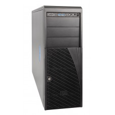Intel E5 Dual Socket Mainstream Pedestal Server , E5-2603v4 (1/2), 16GB DDR4 ECC Reg (2/16), 1TB SATA HDD, 4x 3.5