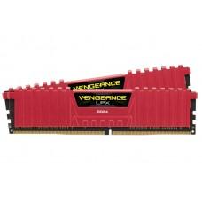 Corsair 16GB (2x8GB) DDR4 2400MHz C16 Vengeance LPX Red