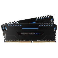 Corsair 16GB (2x8GB) DDR4 3000MHz Vengeance Black Heat spreader with Blue LED (LS)