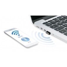 Edimax 2-in-1 N150 Wi-Fi & Bluetooth 4.0 Nano USB Adapter