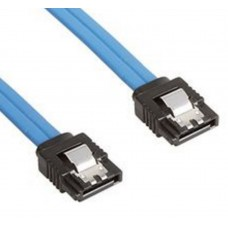 Astrotek SATA 3.0 Data Cable 50cm Male to Male 180 to 180 Degree with Metal Lock 26AWG Blue