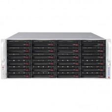 Supermicro 4U 1+1 1280W Rack 24x 3.5