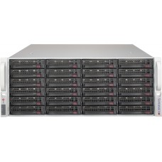 Supermicro 4U Storage Server, 1x E5-2603 v4 (1/2), 32GB DDR4 ECC Reg (2x 16GB), 2x 240GB SSD + 24x 3.5