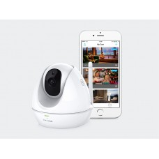 TP-Link NC450 WiFi Day/Night IP Cloud Camera 300Mbps Wireless 1MP 3.6mm Lens 75° View 30fps Pan Tilt Built-in Mic & Speaker Motion/Sound Detection iOS