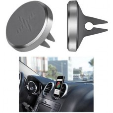 Logitech + Trip Universal Mobile Phone Car Air Vent Mount Holder Cradle Polished Silver Chrome for Smartphone iPhone Samsung HTC Sony & More LS