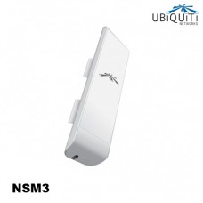 Ubiquiti Nanostation M3 2x2 MIMO antenna, WiFi Wireless Outdoor CPE, 15+ km, 150+ Mbps, 3 GHz