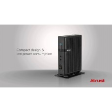 Atrust T180L WE8S Thin Client Intel Bay Trail Quad 1.83GHz 1GB Ram 4GB Flash DVI-Ddual