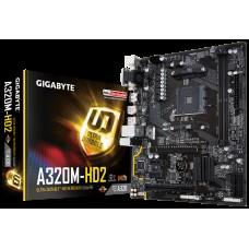 Gigabyte GA-A320M-HD2 Ryzen AM4 mATX MB 2xDDR4 1xPCIEx16 HDMI DVI VGA RAID Realtek GbE LAN 4xSATA3 3xUSB3.1