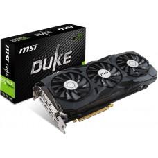 MSI NVIDIA GTX 1080 TI DUKE 11GB OC Video Card -  GDDR5X 2xDP/2xHDMI/DVI SLI VR Ready 1531/1645MHz