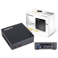 Gigabyte BKi5A-7200 Brix Mini PC 0.6L i5-7200U 2xDDR4 SODIMM HDMI mDP 1xM.2 PCIe USB-C ThunderBolt WiFi Intel GbE LAN VESA NUC Style Barebone