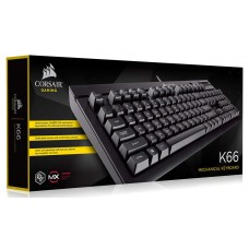 Corsair Gaming™ K66 Compact Mechanical Keyboard, Cherry MX Red, Non-LED