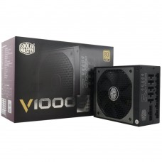 Coolermaster V1000 80+Gold Fully Modular  ATX PSU. 135mm FAN, 5 Years Warranty