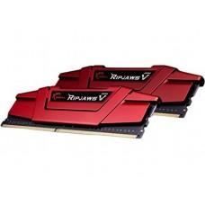 G.SKILL RipjawsV 16GB (2x8GB) DDR4 2666Mhz C15 1.2V Gaming Memory Red