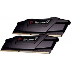 G.SKILL RipjawsV 32GB (2x16GB) DDR4 3200Mhz C16 1.35V Gaming Memory Black