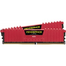 Corsair 16GB (2x8GB) DDR4 4333MHz C19 Vengeance LPX Red - Vengeance Airflow Included