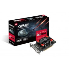 Asus AMD Radeon RX550-2G DDR5 PCIe Video Card 5120x2880 1xDVI 1xHDMI 1xDP