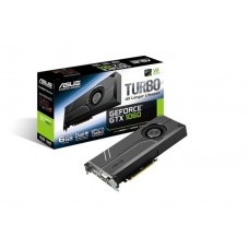 Asus nVidia Turbo-GTX1060-6G PCIe Card GDDR5 8K 7680x4320 2xDP 2xHDMI 1xDVI 1708/1506 MHz