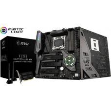MSI X299 XPOWER GAMING AC EATX Motherboard - S2066 8xDDR4 4xPCI-E 3xM.2 U.2 SLI/CF,TypeC TPM
