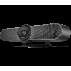 Logitech MeetUp 4K Conferencecam with 120-degree FOV & 4K Optics HD Video & Audio Conferencing Camera System for Small Meeting Rooms 960-001101