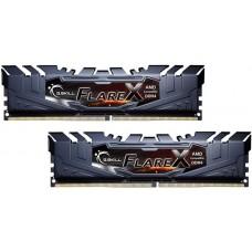 G.SKILL Flare X 16GB (2x8GB) DDR4 3200Mhz C14 1.35V Gaming Memory AMD Ryzen