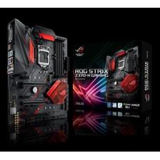 Asus ROG STRIX Z370-H GAMING S1151 ATX MB 4xDDR4 6xPCIe 1xM.2, 6xSATA, RAID, 6XUSB3.1, 1xDVI, 1xHDMI,