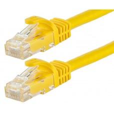 Astrotek CAT6 Cable 10m - Yellow Color Premium RJ45 Ethernet Network LAN UTP Patch Cord 26AWG-CCA PVC Jacket