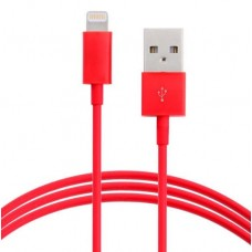 Astrotek 2m USB Lightning Data Sync Charger Red Color Cable for iPhone 6S 6 Plus 5 5S iPad Air Mini iPod