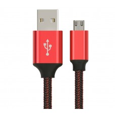 Astrotek 5m Micro USB Data Sync Charger Cable Cord Red Color for Samsung HTC Motorola Nokia Kndle Android Phone Tablet & Devices