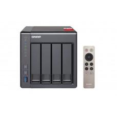 QNAP TS-451PLUS-2G NAS, 4-BAY (NO DISK), CEL QC-2.0GHz, 2GB, USB, GbE(2), TWR, 2 Year Warranty