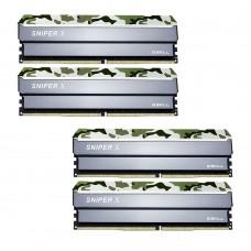 G.SKILL Sniper X 32GB (4x8GB) DDR4 2400Mhz C17 1.2V Gaming Memory Forest Header