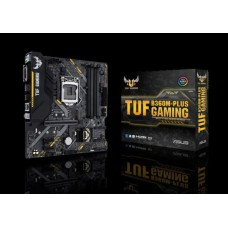 Asus TUF B360M-PLUS S1151 mATX GAMING MB, 4xDDR4, 3xPCIe, 3xUSB3.1, 2xUSB2.0, 1xHDMI, 1xDVI