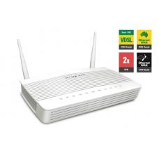 Draytek Vigor2762VAC VDSL2/ADSL2+ VPN Firewall Router 4xGigabit LAN WAN Port 2xUSB for 3G/4G 2xSSL VPN Tunnels VoIP 5GHz WLAN 2xAntenna ~MOD-DV2760VAC